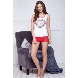 Комплект женский: майка + шорты ТМ Anabel Arto 6213-5
