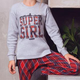 Комплект для девочки с бриджами ТМ Anabel Arto 6415-4