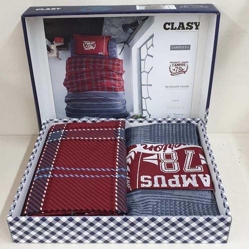 Подростковое постельное белье ТМ Aran Clasy ранфорс Campus V1