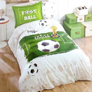 Подростковое постельное белье ТМ Aran Clasy ранфорс Soccer