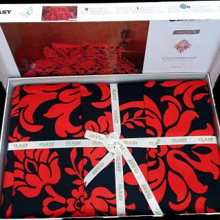 Постельное белье ТМ Aran Clasy сатин Calligra V3 евро-размер