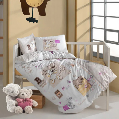 Детское постельное белье в кроватку ТМ Aran Clasy ранфорс Friendship