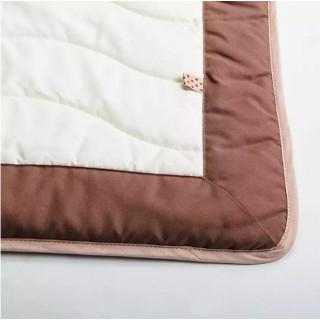 Набор детский Кроха: коврик прикроватный + покрывало