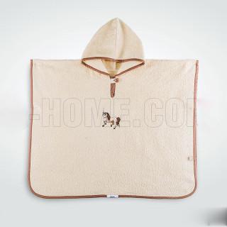 Пончо детское махровое с капюшоном Пони ТМ Идея
