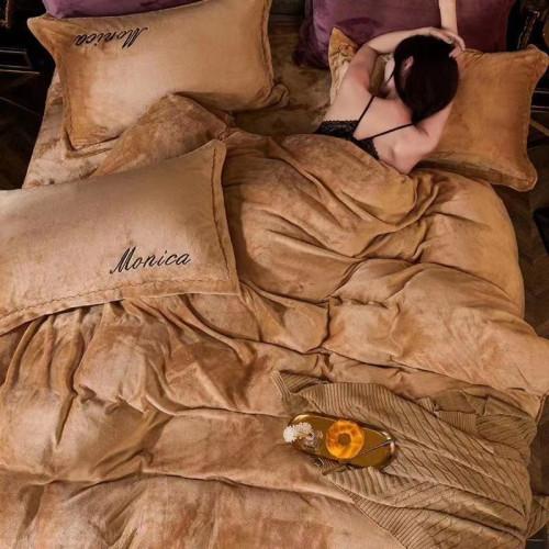 Постельное белье ТМ Koloco велюр Monica беж