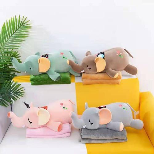 Детский плед-игрушка ТМ Koloco Слоник Sleep