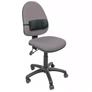 Валик ортопедический на офисное кресло льняной