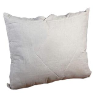 Подушка льняная с наполнителем холлофайбер 70*70