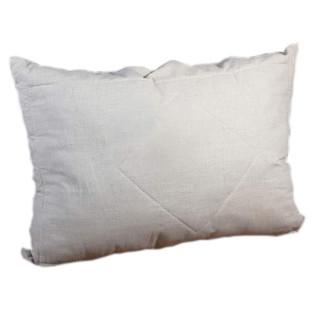 Подушка льняная с наполнителем холлофайбер 50*70