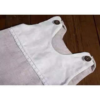 Мешок спальный для новорожденных льняной
