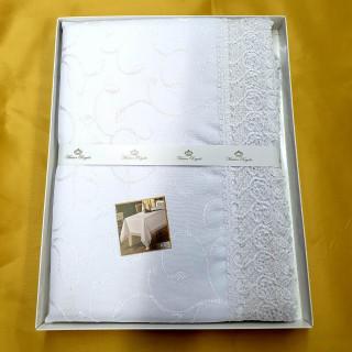 Скатерть прямоугольная Maison Royale KDK белая