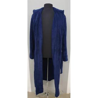 Халат мужской микрофибра ТМ Zeron Турция темно-синий
