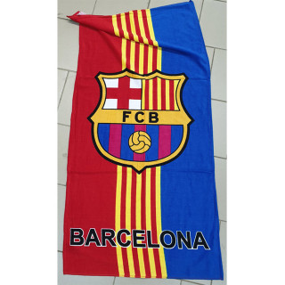 Полотенце пляжное велюровое Турция Барселона