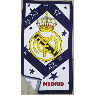 Полотенце пляжное велюровое Турция Real Madrid