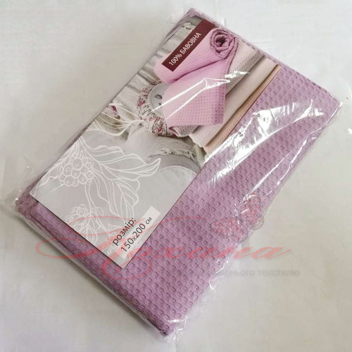 Покрывало вафельное ТМ Аиша Узбекистан 150х200