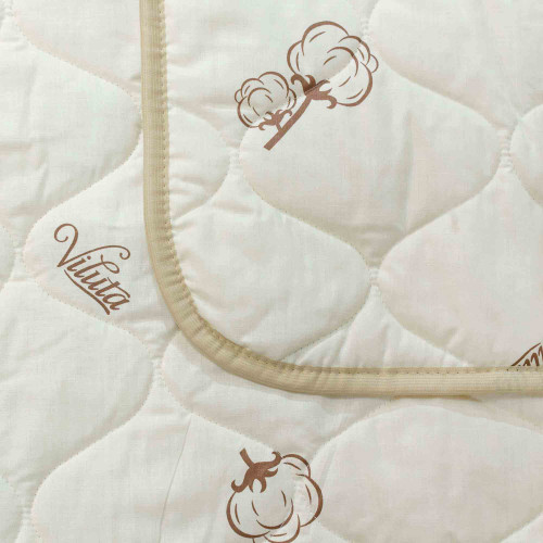 Одеяло хлопковое стеганое ТМ Вилюта Хлопок