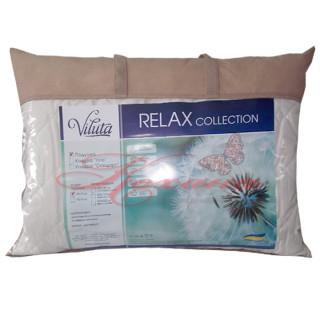 Подушка силиконовая на замочке Relax ТМ Вилюта 50х70