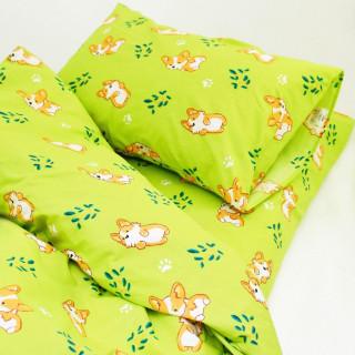 Постельное белье ТМ Вилюта ранфорс детское 20122 зеленый