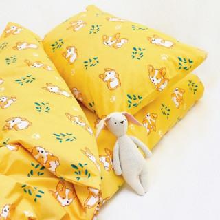 Постельное белье ТМ Вилюта ранфорс детское 20122 желтый