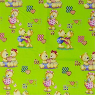 Постельное белье ТМ Вилюта ранфорс детское 4457 зеленый