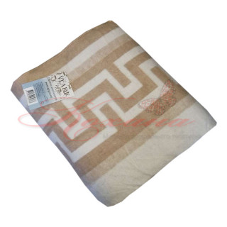 Одеяло хлопковое жаккардовое ТМ Vladi Греция бел-беж