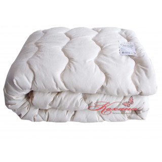 Одеяло шерстяное стеганое ТМ Vladi светло-бежевое