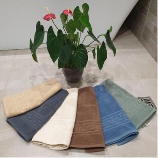 Коврик для ванной махровый TM ZERON Орнамент 50х70