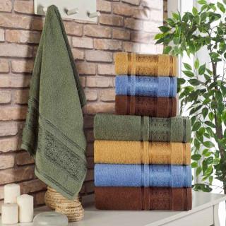 Набор полотенец махровых ТМ Zeron Baklava Desen 4 шт
