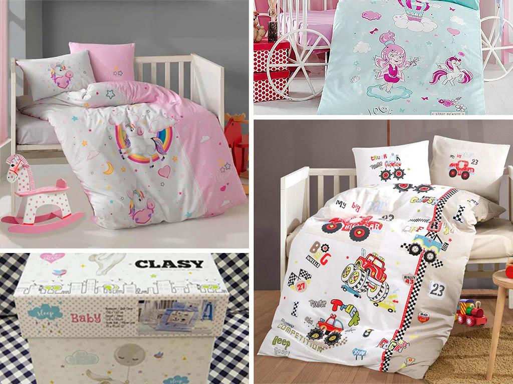 Детское постельное белье в кроватку ТМ Aran Clasy в интернет-магазине Кохана